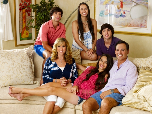 The Jennings family from I Am Jazz on TLC